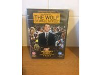 Brand new The Wolf of Wall Street DVD