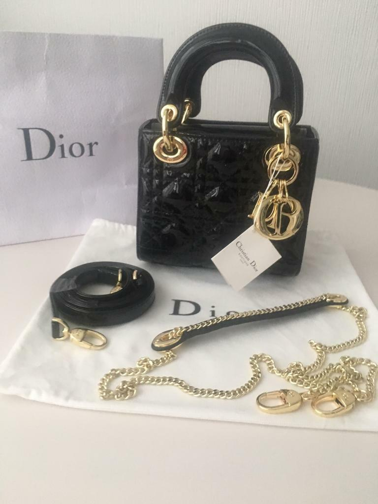 a4cfe9df6b6 MINI LADY DIOR BAG   in Hendon, London   Gumtree
