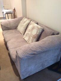 *PRICE DROP* 3 seater sofa & LOVESEAT (super comfy!)