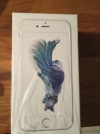 iphone 6s 16 gb white-silver vodafone new in original box and all inside