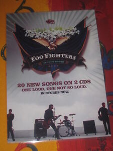 FOO FIGHTERS - IN YOUR HONOR  -  LAMINATED PROMO POSTER