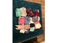 Baby girls clothes 9 - 12 months
