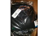 Clearance Joblot wholesale Five XL black long sleeve superdry polos
