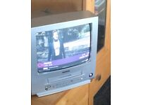 Samsung portable tv with built in VHS player