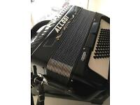Accordion 3 voice 72 bass Allodi Fantini