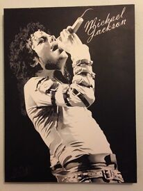 Michael Jackson Black and White Canvas 60x80cm