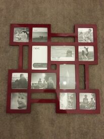 Next Red Picture Frame