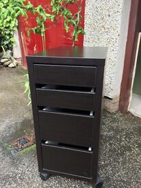 Storage unit with drawers