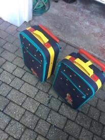 2 Children Suitcases