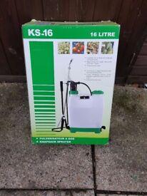 KS-16 Knapsac Sprayer 16L BNIB