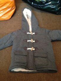 Grey boys coat 9-12months