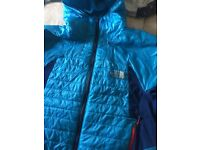 The north face small men's blue jacket