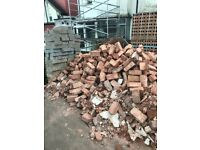 100s Reclaimed Red Bricks £50 or near offer