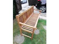 New large garden bench top quality