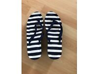 Two pairs Primark flip flops