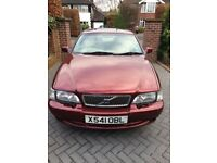 Volvo C70, metallic red with cream leather interior. Full Volvo garage service history.