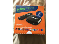 3 x NOW TV Boxes with all accessories - HDMI, Power adaptor. Brand New still sealed.