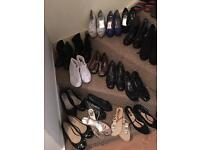 Variety of size 7 shoes