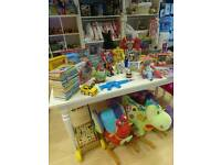 Shop, warehouse, only for soft toy storage