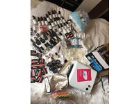 Acrylic nail kit massive nearly all new never used