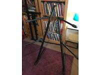 Keyboard stand for sale (Double)