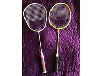 2 kids Artengo badminton racquets. Will sell individually