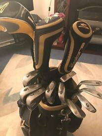 King cobra golf clubs and Trolly