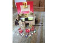 sylvanian family vintage gypsy caravan selling for £30-£50 on ebay grab a bargain