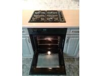 Gas hob plus AEG Competence electric fan oven and grill