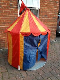 Ikea Circus childs play Tent Yellow & Red