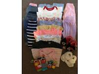 Baby girl 6-12 months clothes bundle