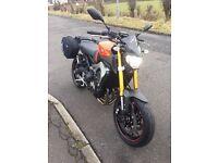 Yamaha MT09 ABS 2016 1700 miles over £2000 of extras (not kawasaki suzuki triumph ktm)