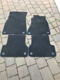 Set of 4 Audi A6 carpet foot mats. Used and good condition. £10