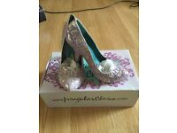 Irregular Choice Courtesan Floral Suede Size 37/4 £55 (Nearly New)
