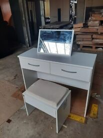 New Hallingford Dressing Table - White