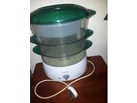 3 TIER TEFAL FOOD STEAMER