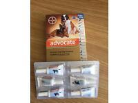 Advocate flea treatment sold pending collection