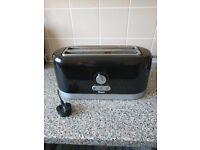 Swan Black 4 Slice Toaster