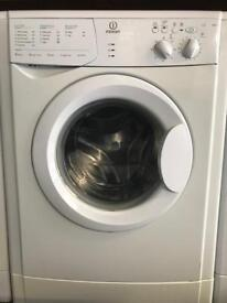 Indesit washing machine fully working order with three months guarantee for sale