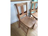 Oak Church Chairs