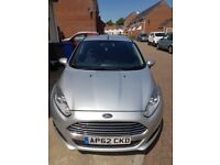 Ford, FIESTA, Hatchback, 2013, Manual, 1241 (cc), 5 doors