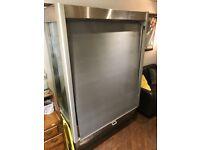Shelved display fridge