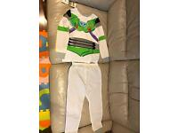Brand New Toy Story Buzz Lightyear/Woody Pyjamas (Double Sided)
