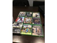 XBOX ONE WITH KINECT AND 13 GAMES