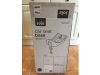 Car Seat Base - Joie - Excellent Condition in Original Box