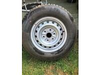 Unused Bridgestone tyre