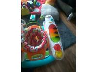 Kids baby 4 in one piano step and play bargain