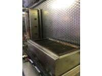 Gas charcol grill