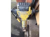 Bosch and Dewalt breakers with transformer