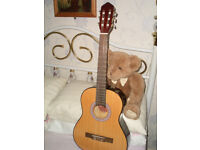 3/4 size nylon string guitars..(3)